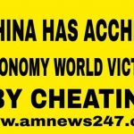 China has achieved economic world victory by cheating-china breaking news today